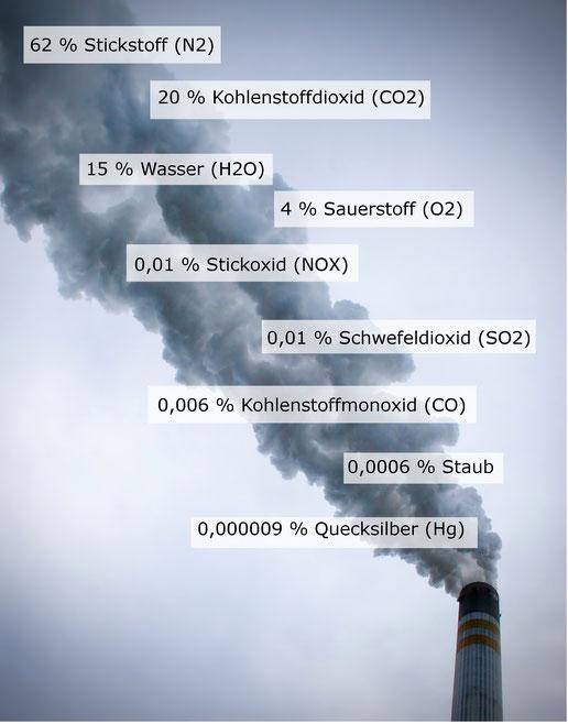 Emissionen Des Kraftwerks Schkopau