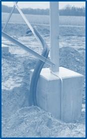 Fundament Stahlgittermast IEM