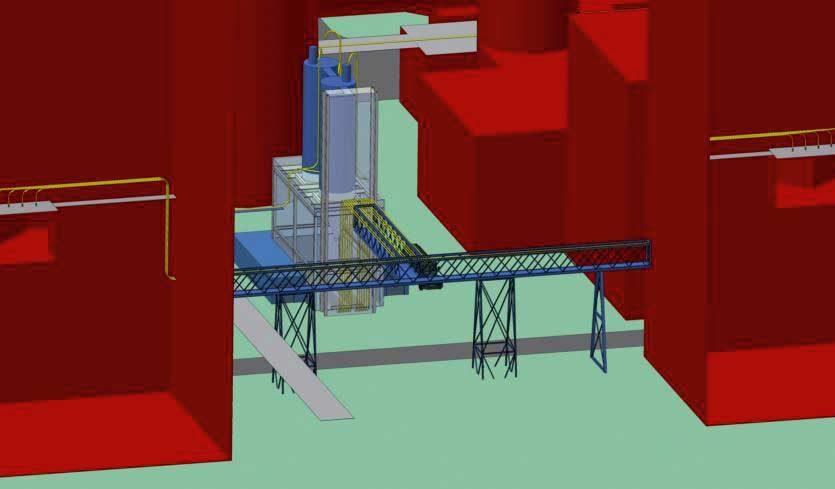 Modell der AKD-Anlage